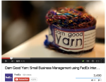 FedEx Darn Good Yarn Video