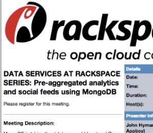 rackspace webinar